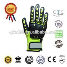 Soft Nylon cut resistant gloves, heavy duty winter warm gloves