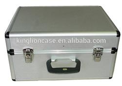 Safe strong durable metal instrument case/ black aluminum tool case KL-T416