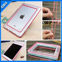 2014 new design ultrathin TPU frame for iPad mini ipad(OBS-PB-P6001)