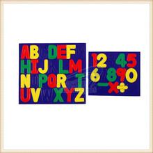 customized Fun Colorful fridge magnet letters