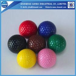 Colorful hard Foam Golf Ball