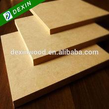 E2 or E1 Grade HDF High Density Wood Fiber Board