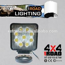 9pcs * 3W CREE 27W led work light,driving lamp