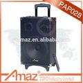 2014 mais novo design de alta qualidade barato 4.5Ah de madeira da bateria fivestar speaker poeira cap
