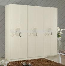 decorative laminate wooden wardrobe design