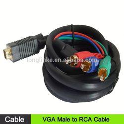 new arrival cable vga rca rca to vga converter box