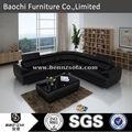 Baochi moderno sofá de couro italiano modelo barroco moderno móveis dubai sofá de couro mobiliário C1128-B