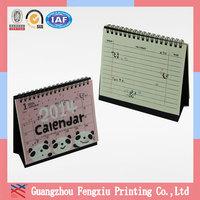 Printable Table Desk Desktop Chinese Calendar 2014 in Guangzhou