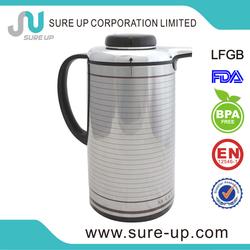 New bpa free thermos vacuum airpot pump pot vacuum jug coffee pot