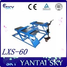 Made in China CE Certified Cheap Cars Trucks Scissor Lift / small electric Scissor Lift