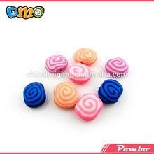handmade and colorful mix pattern shamballa beads