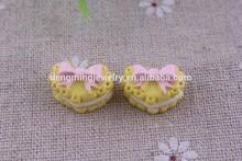 Hotsale !! DIY Resin Fake Ice cream Pendant Findings, Imitation Resin Craft Charm !! Fit Phone /Necklace Decoration Making!!