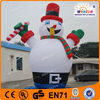 Recreational Style Christmas Decoration Hottest Inflatable Lovely Snowman