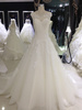 Anti-static dry cleaning bridal maxi designs F873