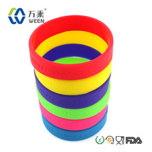 Santa Claus Gifts! Unique Silicone Bands with Logo Customized for Promotion