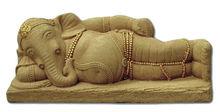 High quality outdoor garden stone elephant sculpture