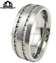 2014 Fashion Luxury Zircon Wedding Ring CMR-2012-06-CZ
