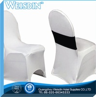wedding made in China satin armchair cover with pockets