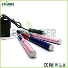 Colorful pack 510 or 808D thread no wick vape pen e smart electronic cigarette