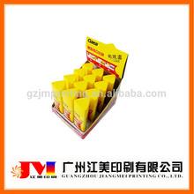 cardboard template shampoo product display box