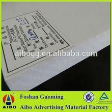 Hard PVC Celuka Foam Sheet high impact pvc decorative foam board