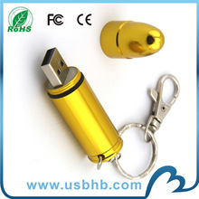 alibaba best seller new design metal usb flash drive bullet