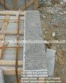 Raw calcário de pavimentação passo