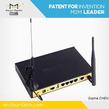 Industrial Cellular LTE 4G Modem Router Sierra Wireless Module WiFi for Video surveillance F3834