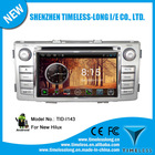 Android 4.0 Car Radio for Toyota Hilux 2012 with GPS A8 Chipset 3 zone POP 3G/wifi BT 20 disc playing