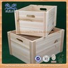 2014 New Design Hot Sell paulownia wood Crates for shipping bottles