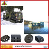 Factory produce special rubber tracks tractor of Hagglunds