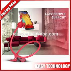 Folding desk holder for mobile phone/cell phone desk holder/funny cell phone holder