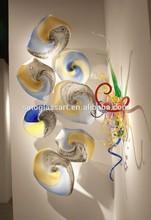 Italy Style Handmade Murano Wall Art Plates Decoration