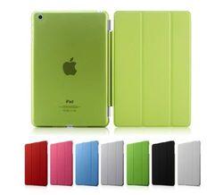 Luxury Slim Stand Smart Case Leather Back Cover For Apple iPad mini 1 2 w/ Retina Display Sleep Wake