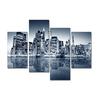Brilliant City Skyline Cityscape Canvas Prints Wholesale Custom made Accept