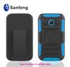 rubber phone case for MOTO E back cover