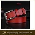 Elaboración de cuero cinturones, occidental cinturón