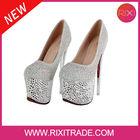 High quality ultra high 7 inch high heel elegant classy sexy dress shoes for women