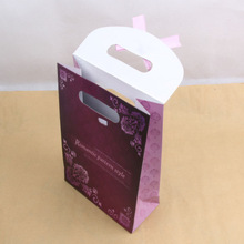 Lovely 2014 exquisite merry christmas gift packaging paper bag with printingzhejiangchina