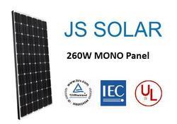 JS SOLAR - TUV CE CEC UL MCS Certified 260, 265, 270W mono Solar Panel