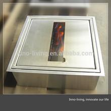 Outdoor fireplace modern ethanol fireplace