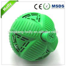 Environmentally soft rubber ball washing ball