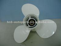 Aluminum outboard motor propeller