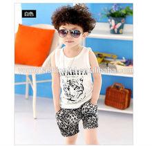 2014 Summer European Kids Sets Casual Kids Boy Clothes