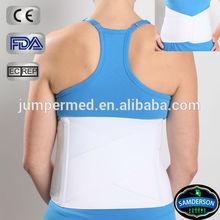 adjustable elastic and pile foam mesh abdominal binder