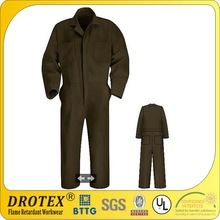 Drotex soil release fabric for making long sleeve coverall