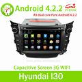 Lsq stella puro Android 4.2 autoradio per hyundai i30 con 3G/wifi/SWC/dvd/radio/BT/usb/ATV... Vendita calda!!!