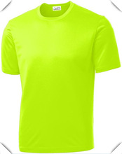 2014 new popular USA Sport Neon Color High Visibility Athletic T-Shirts in Sizes XS-4XL hot sale