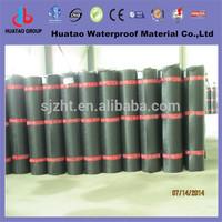 Torch down fiberglass or polyester reinforced sbs modified bitumen roof top waterproof materials