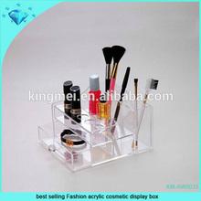 best selling Fashion acrylic cosmetic display box